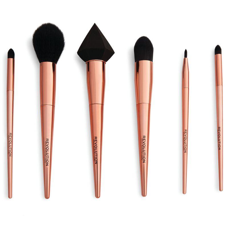 Reloaded Rose Gold Brush Set