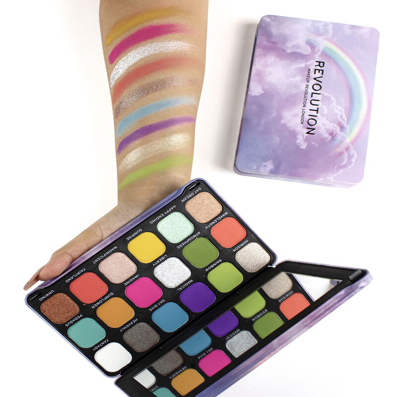Forever Flawless Halloween Rainbow Shadow Palette