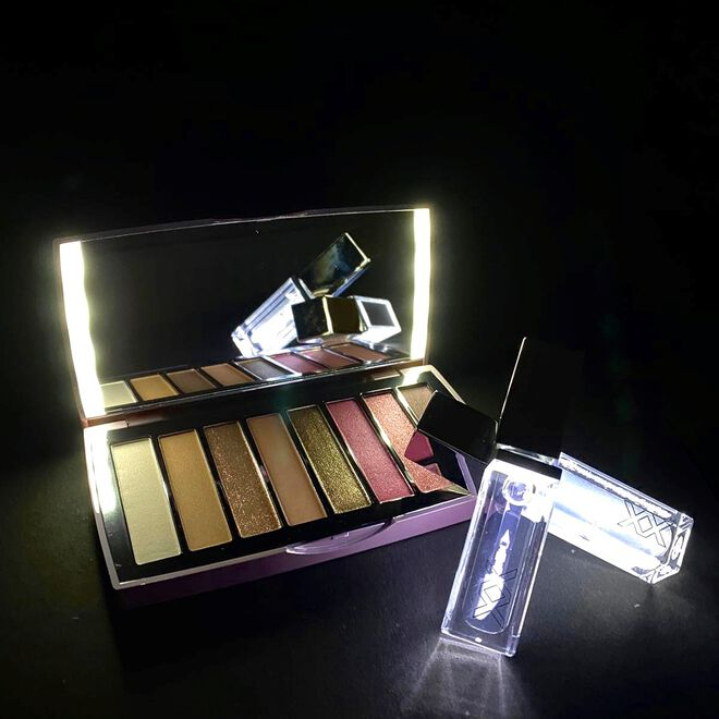 XX Revolution Light Up Clear Lipgloss Electric
