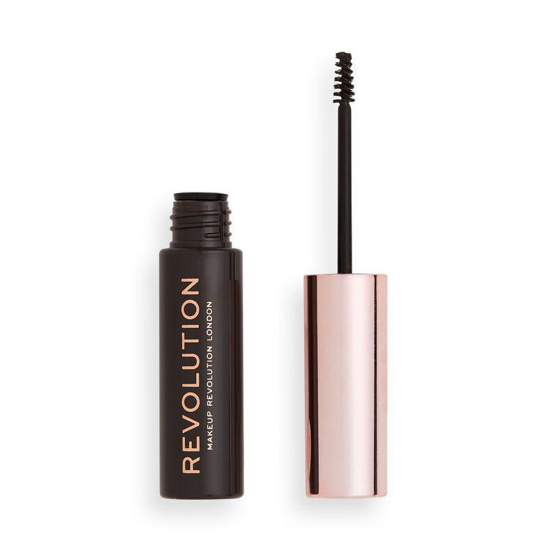 Makeup Revolution Brow Gel Dark Brown