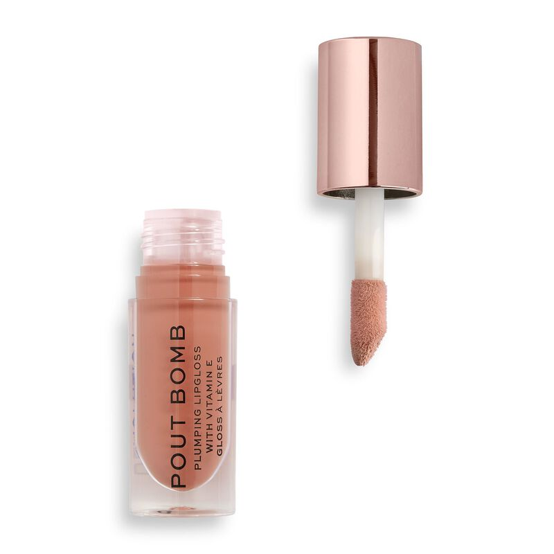 Makeup Revolution Pout Bomb Plumping Gloss Candy