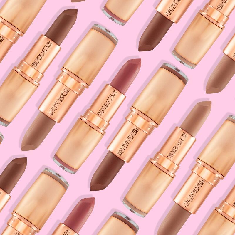 Iconic Matte Nude Revolution Lipstick Inspiration