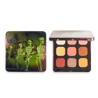 Corpse Bride X Makeup Revolution Grave Misunderstanding Eyeshadow Palette