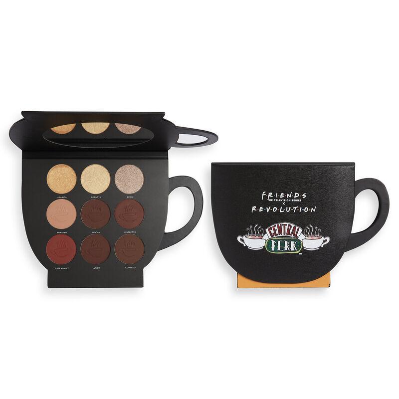Makeup Revolution X Friends Grab a Cup Face Palette Dark to Deep