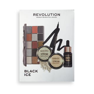 Makeup Revolution Black Ice Set