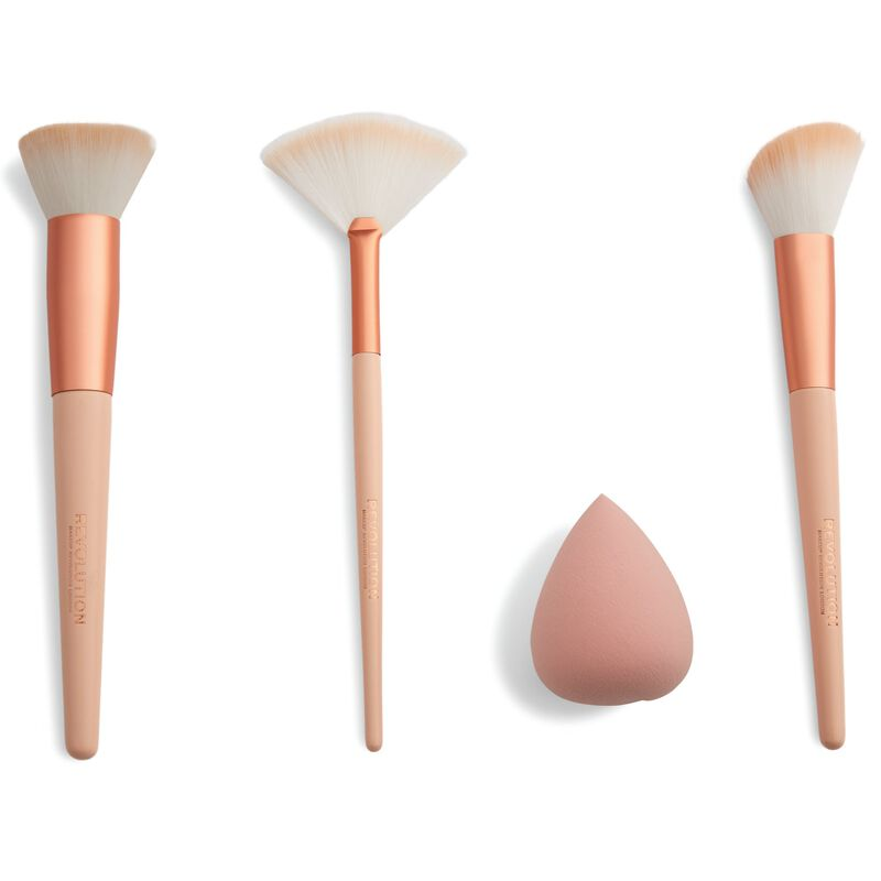 Sculpt & Glow Brush Set with Blending Sponge