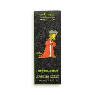 """The Simpsons Makeup Revolution Living Dead Lip Kit """"Vampire Mr. Burns"""""""