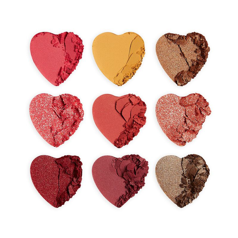 I Heart Revolution Heartbreakers Courage Eyeshadow Palette