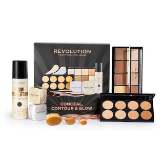 Makeup Revolution Conceal, Contour & Glow Set