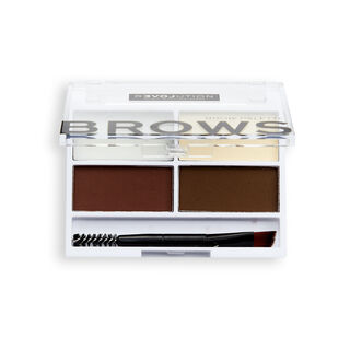 Relove by Revolution Colour Cult Brow Palette Dark