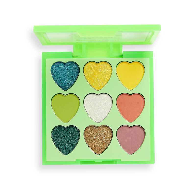 I Heart Revolution Heartbreakers Eyeshadow Palette Flourish