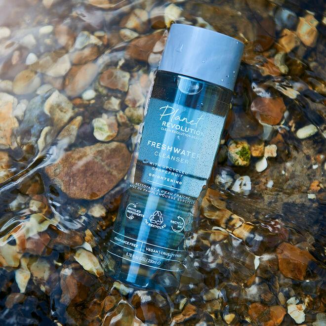 Planet Revolution Freshwater Brightening Cleansing Water