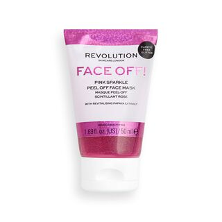 Revolution Skincare Pink Glitter Face Off Mask