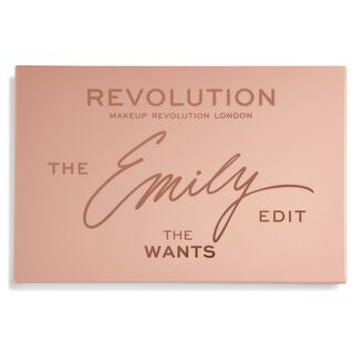 Revolution x The Emily Edit - The Wants Palette