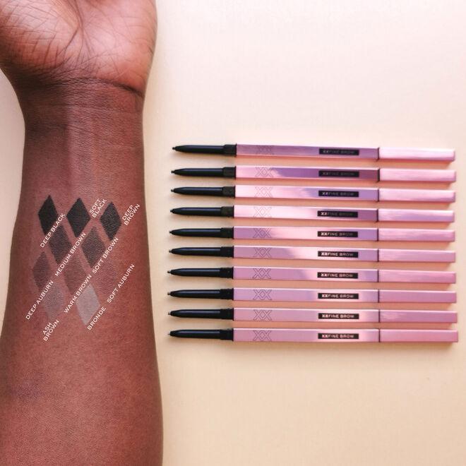 XX Revolution XXFine Micro Brow Pencil Deep Auburn