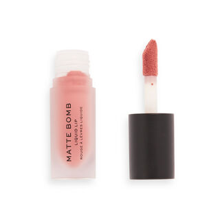 Makeup Revolution Matte Bomb Liquid Lipstick Fancy Pink