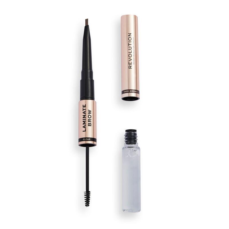 Makeup Revolution Laminate Brow Dark Brown