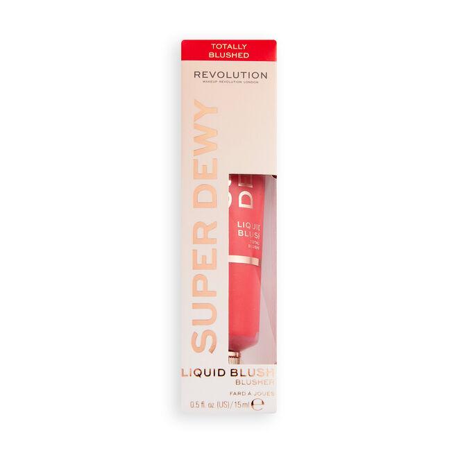 Makeup Revolution Superdewy Liquid Blush Totally Blushed