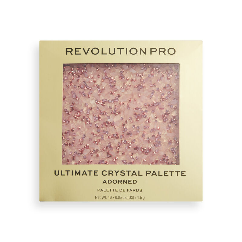 Revolution Pro Ultimate Crystal Eyeshadow Palette Adorned