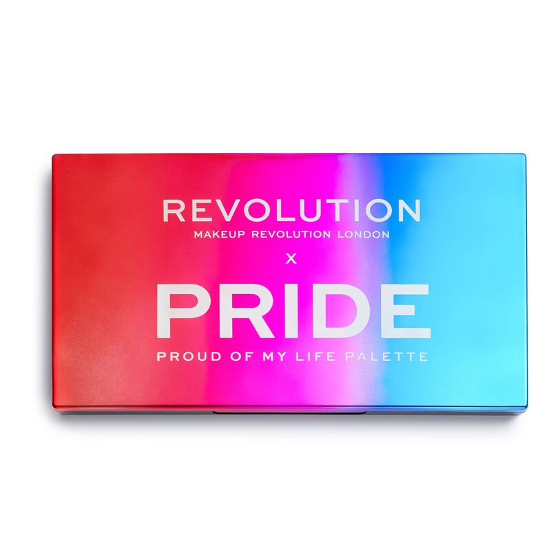 Makeup Revolution X Pride Proud Of My Life Eyeshadow Palette