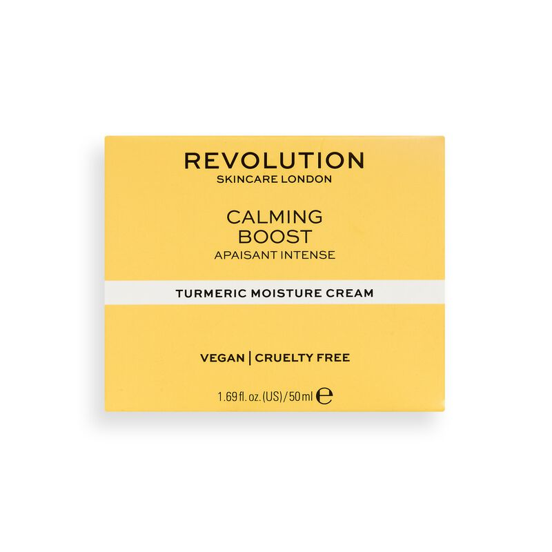 Revolution Skincare Calming Boost Moisture Cream with Turmeric