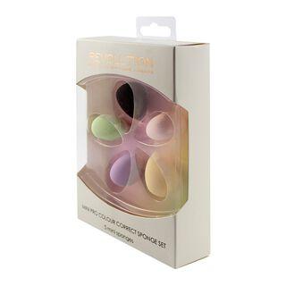 Mini Pro Colour Correct Sponge Set