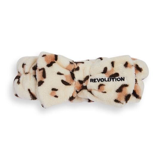Revolution Skincare Luxe Leopard Print Headband