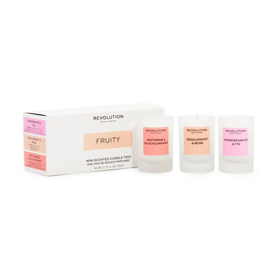 Revolution Home Fruity Mini Candle Gift Set