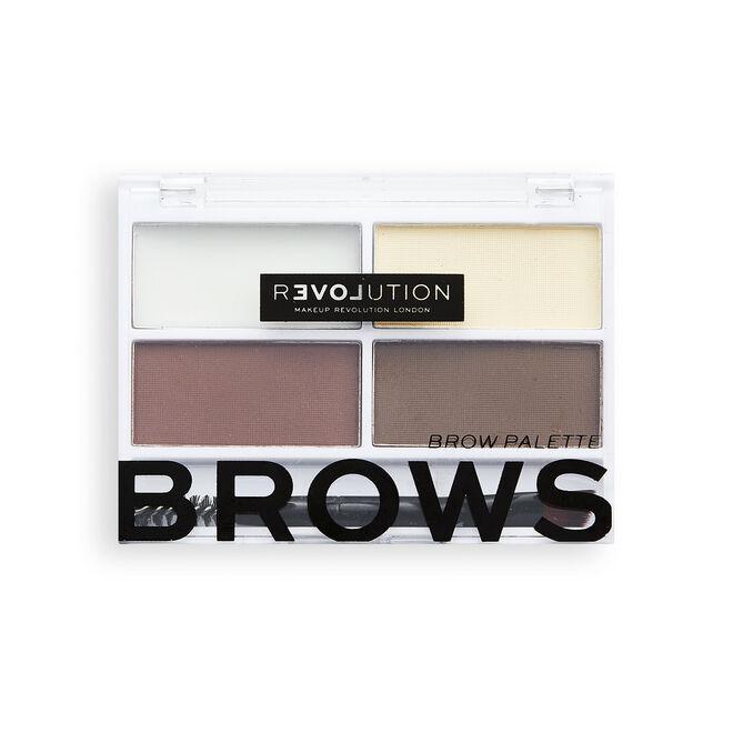 Relove by Revolution Colour Cult Brow Palette Dark
