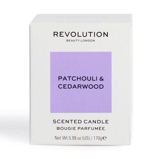 Revolution Home Patchouli & Cedarwood Scented Candle