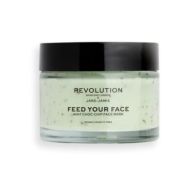 Revolution Skincare x Jake Jamie Mint Choc Chip Refreshing Face Mask
