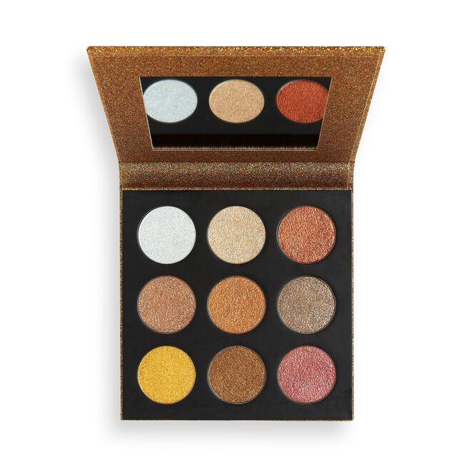 Makeup Revolution Euphoric Foil Eyeshadow Palette Sparkle Up