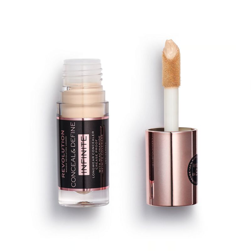 Makeup Revolution Conceal & Define Infinite Longwear Concealer (5ml) C6.5