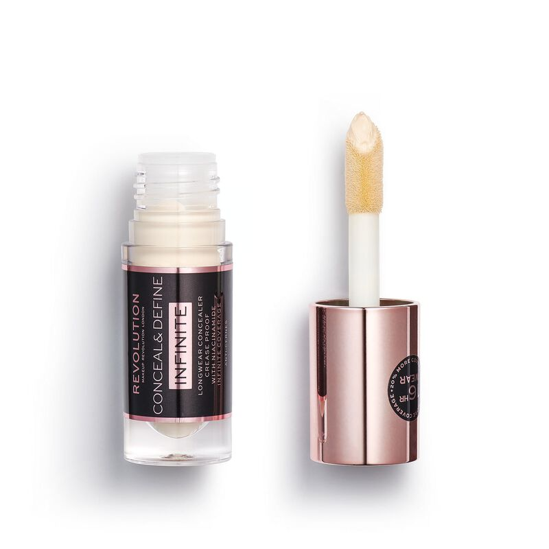 Makeup Revolution Conceal & Define Infinite Longwear Concealer (5ml) C0.2