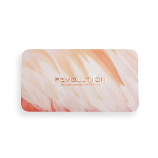 Makeup Revolution Flamingo Mini Trio Blush Palette Oh My Blush
