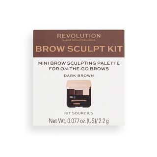 Brow Sculpt Kit Dark Brown