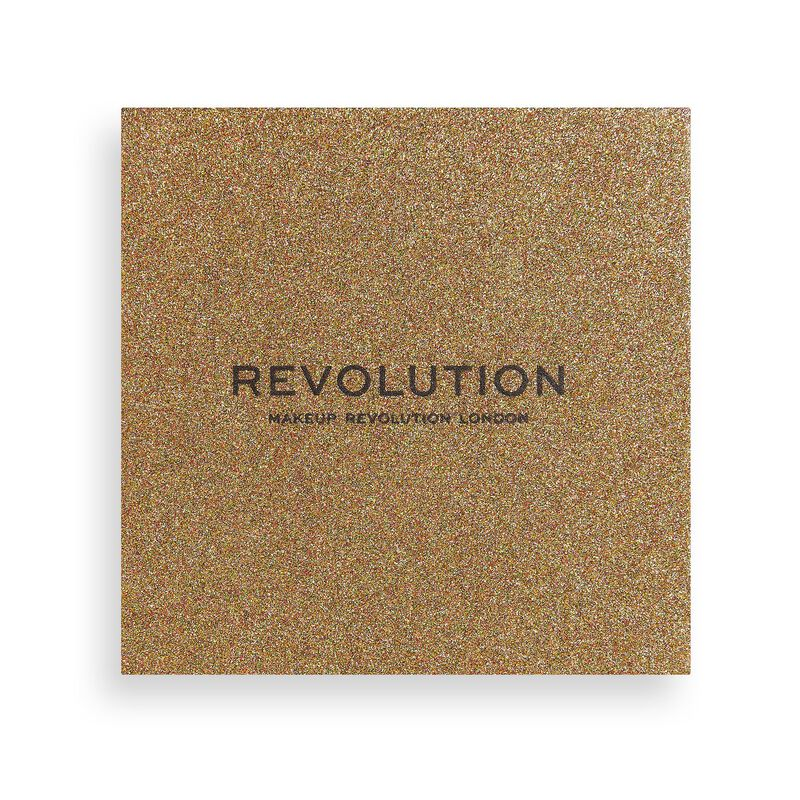 Makeup Revolution Euphoric Foil Eyeshadow Palette Sparkle Up