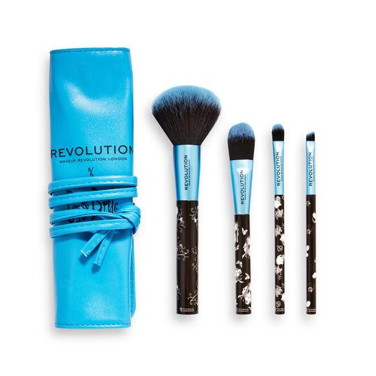 Corpse Bride X Makeup Revolution Brush Set