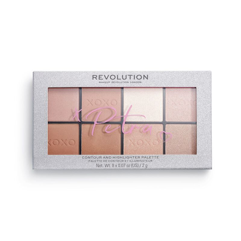 Revolution X Petra XOXO Contour and Highlight Face Palette