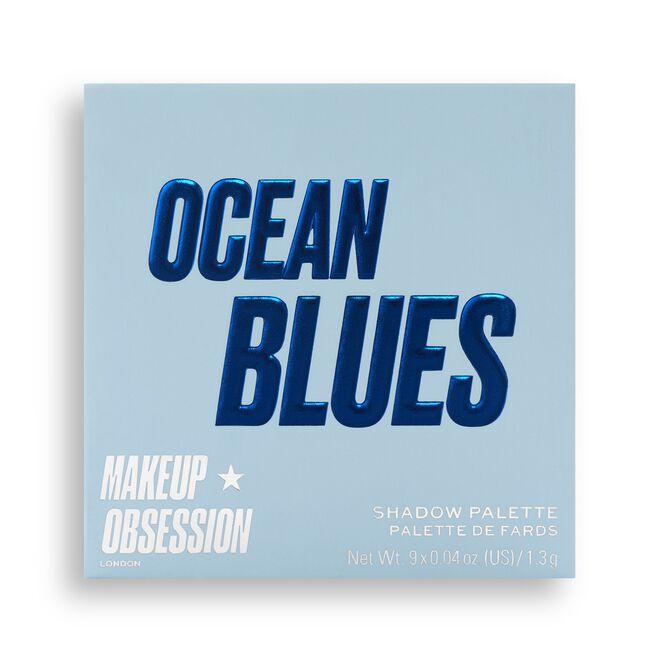 Makeup Obsession Ocean Blues Eyeshadow Palette