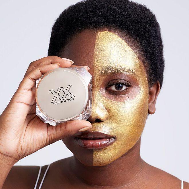XX Revolution MetaliXX Gold Face Mask