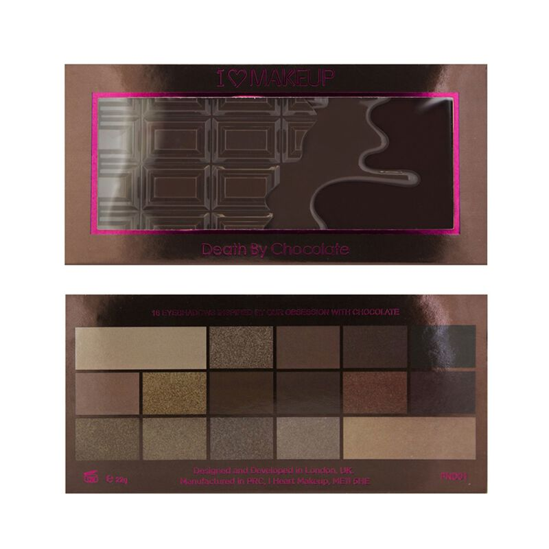 I ♡ Chocolate Palette - Death By Chocolate