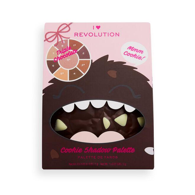 I Heart Revolution Triple Chocolate Cookie Eyeshadow Palette