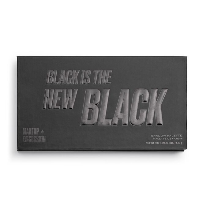 Makeup Obsession Black Is The New Black Eyeshadow Palette