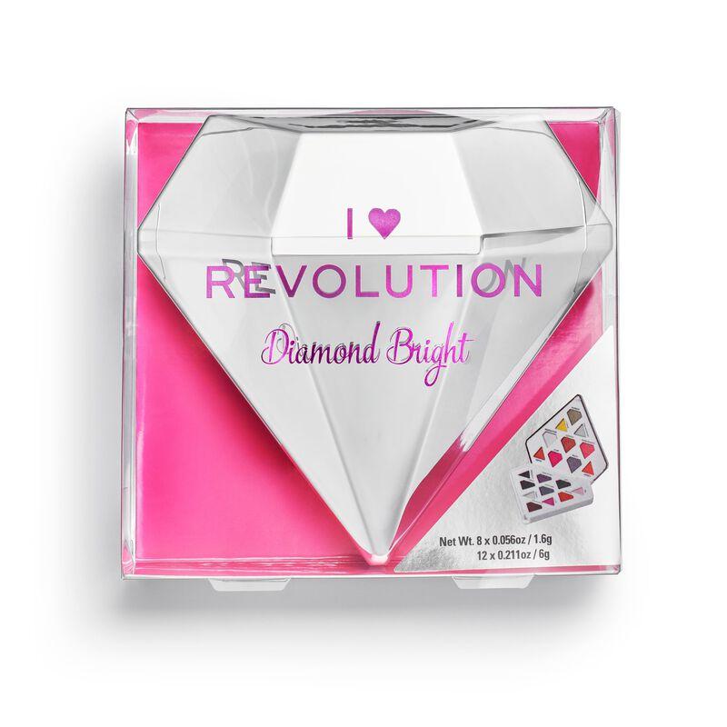 Makeup Revolution Diamond Bright Eyeshadow Palette