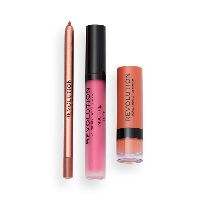 Makeup Revolution Affinity Lip Set