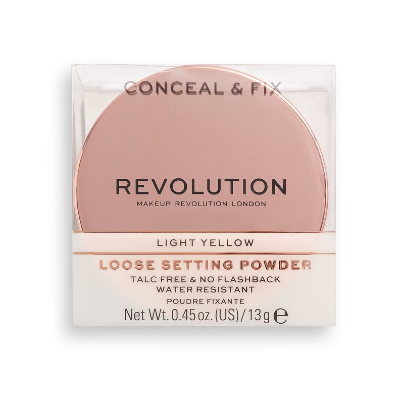 Conceal & Fix Setting Powder Light Yellow