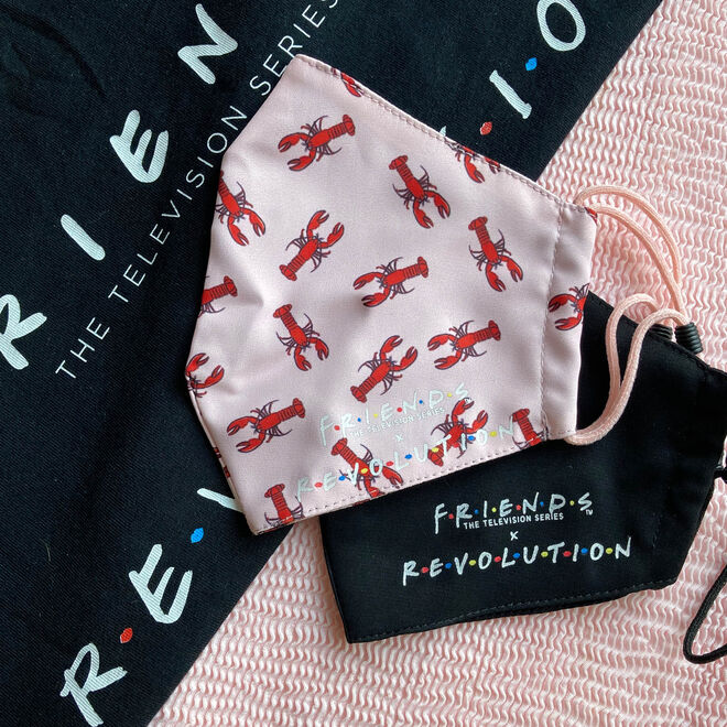 Friends X Makeup Revolution Re-useable Fabric Face Covering