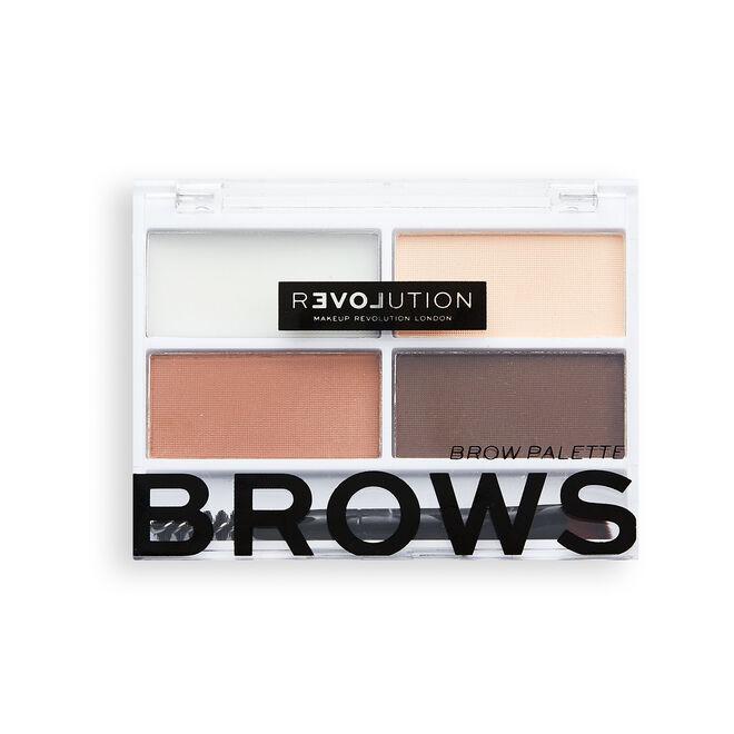 Relove by Revolution Colour Cult Brow Palette Medium