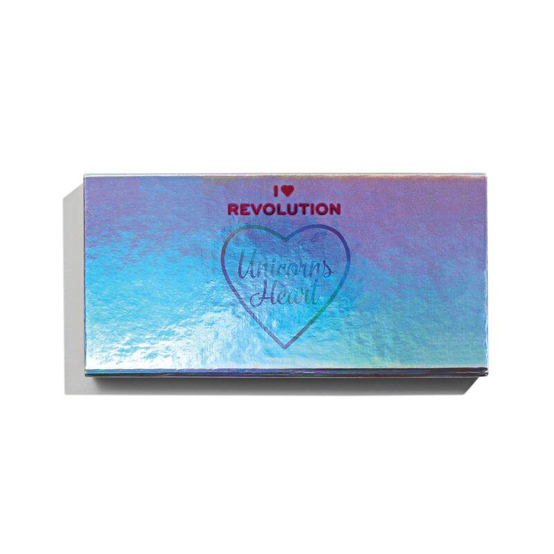 I Heart Revolution Unicorns Heart Eyeshadow Palette